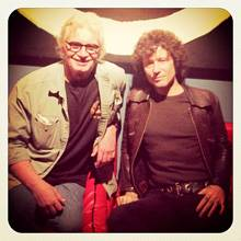 Enrique Bunbury join Jack Douglas to record for Luz, a Latin Tribute to Creedence Clearwater Revival
