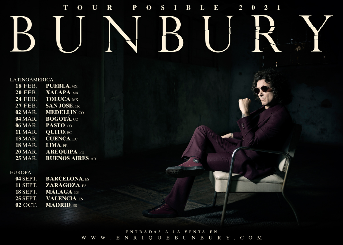BUNBURY - Tour 2021